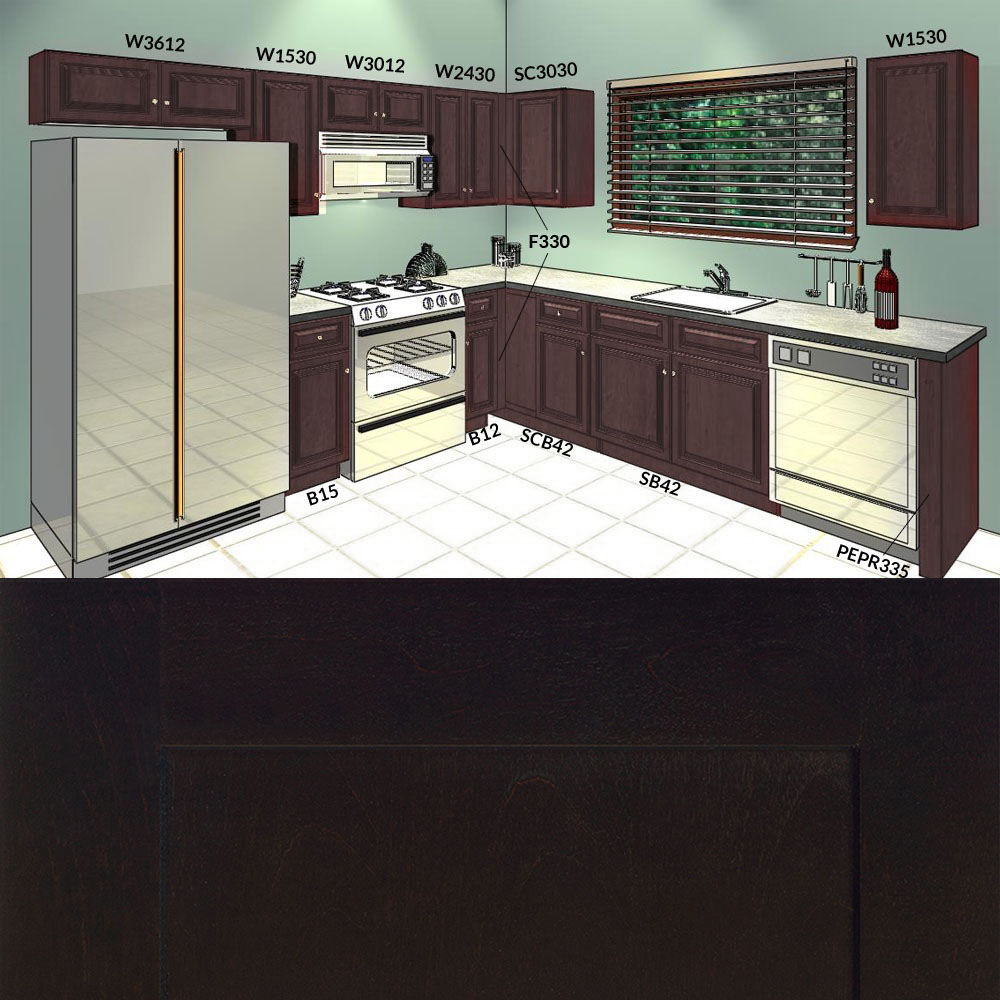 10x10 galaxy expresso kitchen cabinets group sale 1 for 10x10 kitchen cabinets for sale