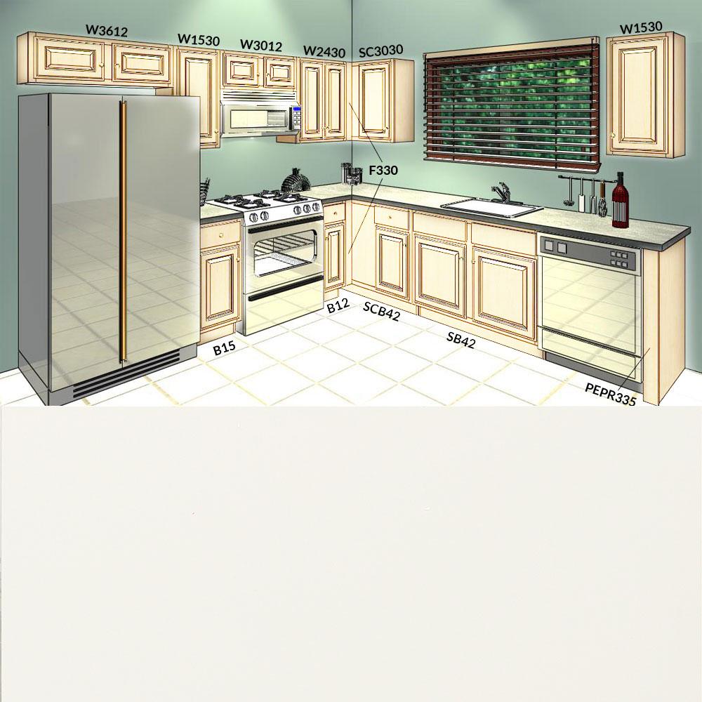10 X 10 Kitchen Cabinets: 10x10-prima-bianco-kitchen-cabinets-group-sale-1