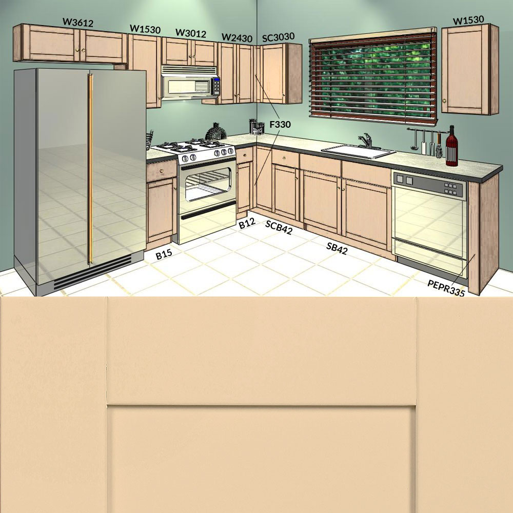 10x10 shaker linen kitchen cabinets group sale 1 cabinet for 10 x 10 kitchen cabinets