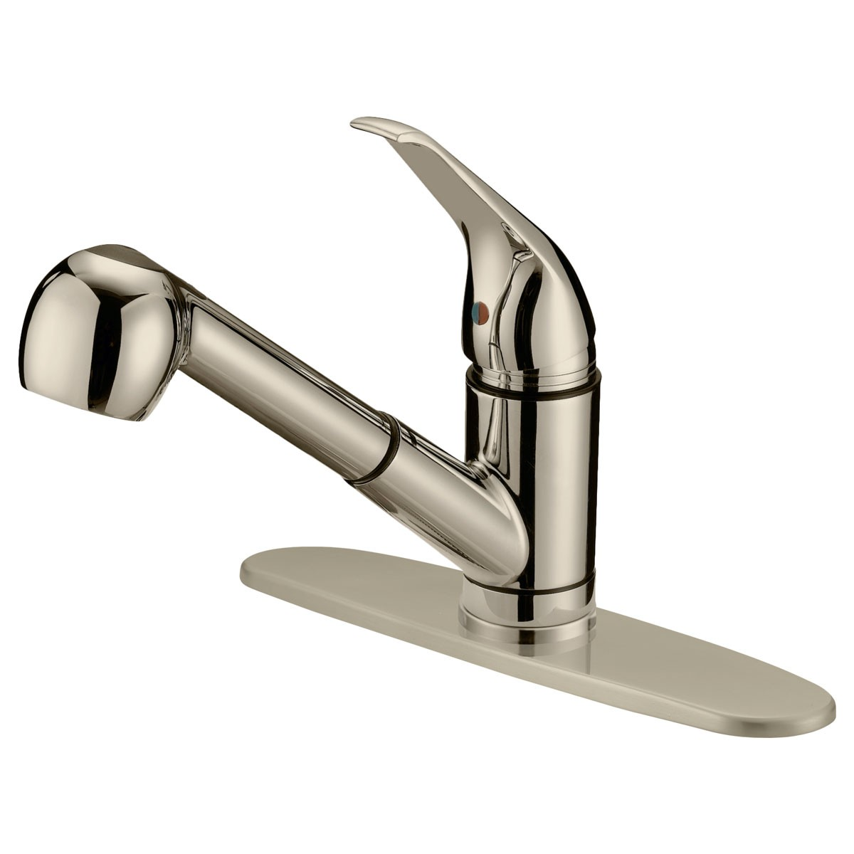 LK3B PULL OUT KITCHEN FAUCET, BRUSHED NICKEL FINISH - Cabinet ERA ...