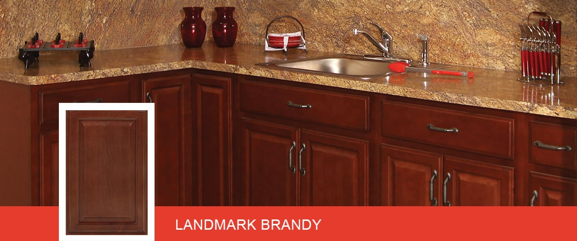 Fabuwood – Landmark Brandy. Home Kitchen Cabinets ...